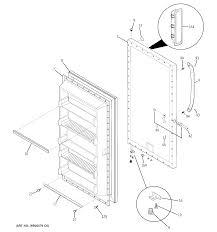 Ge Upright Freezer Manual Ge Freezer Parts Model Fuf21svdrww Sears Partsdirect