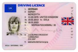 Licences On uk Gov Driving Now Union Flags - Feature British