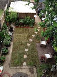 ideas to replace grass in small urban yard
