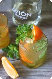 orange mint tequila l mind over batter
