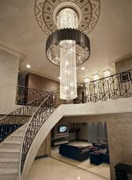 long crystal chandelier dining room transitional with tufted with regard to new household crystal chandelier companies ideas