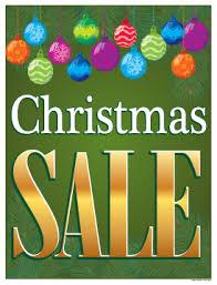 Holiday Window Poster 25 X 33 Christmas Sale