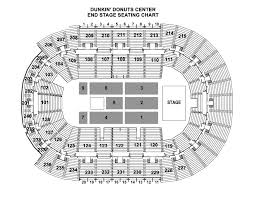 Chase Center Arena Seating Chart Seating Chart Dunkin Donuts Center