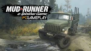 Unlike original spintires, it was developed by saber interactive and published by focus home interactive. Spintires Mudrunner Gameplay Pc Hd Youtube