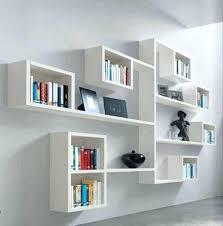 diy wall shelf ideas decorative modern wall shelves shelving bedroom cool white floating wall shelves modern