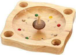 Wooden Spinning Top Game Tyrolean RouletteSpinning Top RouletteTraditional GameTiroler 1
