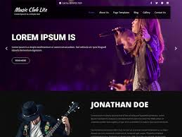 Music deskthemepack is available for download in four color modes: Free Music Club Lite Wordpress Theme 2021 Download Now Go Free Themes