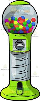Vending Machine Clip Art Mesmerizing A Round Gum Ball Vending Machine Clipart By Vector Toons