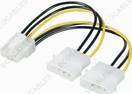 pci e plug 8pin to ide power plug 4pin molex cable assembly wire pci e plug 8pin to ide power plug 4pin molex cable assembly wire harness cable assembly