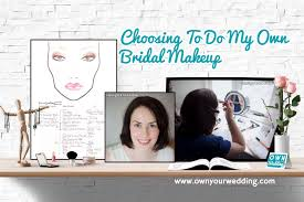 home diy style choosing to do my own bridal makeup
