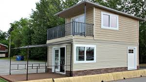 Small Picture Tiny Home Modern 2 Floors with Balcony Micro Home Design Ideas