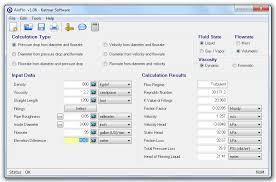 Pipe Diameter Sizing Pressure Drop And Fluid Flow Rate