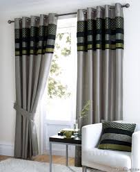 full size of light grey living room curtain with black and green color combinations orange white