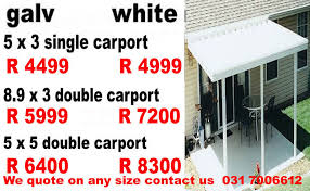 carports durban kzn factory materials sold direct to public high quality at low s