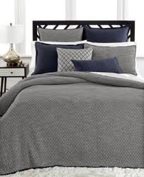 CLOSEOUT! Hotel Collection Linen Navy Bedding Collection - Bedding ... & Hotel Collection Linen Navy Quilted King Sham Adamdwight.com