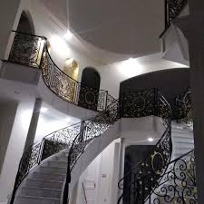 Homeadvisor's iron railing cost guide provides average prices per foot for materials and installation of wrought iron railings, spindles and balusters. Wrought Iron Stair Rails Fence Geeks Wrought Iron Fences Gates And Access Controls