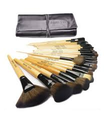 bobbi brown professional makeup brushes set of 24 with soft black bag