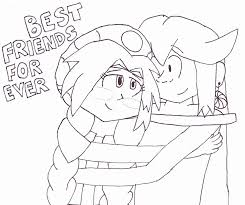 Friends Forever Coloring Page - Coloring Home
