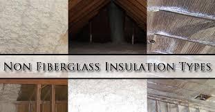 non fiberglass insulation types phoenix