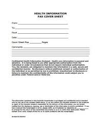 Free Printable Fax Cover Sheet Template #3290 - Searchexecutive