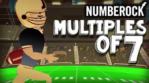 7 Times Table Song Rap Skip Counting By 7 Multiplication Song By Numberock