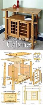 japanese furniture plans. Perfect Plans Japanese Cabinet Plans  Furniture And Projects  WoodArchivistcom And A