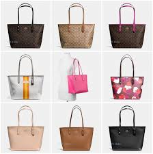 New Coach F36876 F37785 City Zip Tote In Signature PVC Canvas Crossgrain  Leather