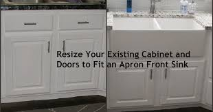 install farmhouse sink existing counter. My SoCalled DIY Blog Resize Your Existing Cabinet And Doors To Fit An Apron Front Sink With Install Farmhouse Counter