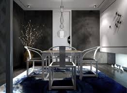 dining room lights chic drum shade hanging lamp black wooden folding table wooden table caged drum