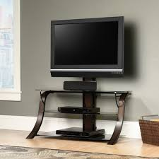 Tv Stands For 50 Flat Screens Sauder Select Veer Tv Stand With Mount 413906 Sauder