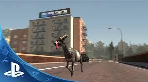 goat simulator launch trailer ps4