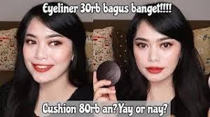 makeup lokal udah murah bagus lagi esenses one brand makeup tutorial
