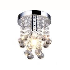 modern mini rain drop small crystal chandelier lighting for bedroom living room ceiling lamp corridor hallway lamp in chandeliers from lights lighting on