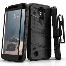 lg k20 plus case. zizo bolt case for lg k20 plus / harmony - 12 ft. military grade lg l