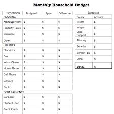 budget sheets pdf your 7 step guide to making a personal budget monthly budget