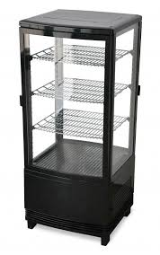 countertop refrigerated display case with 86 l capacity