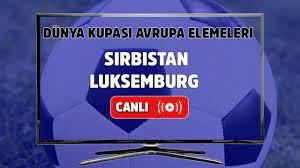 Canlı maç izle Sırbistan Lüksemburg Dünya Kupası Avrupa Elemeleri S Sport  şifresiz ve canlı izle - Tv100 Spor