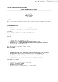 Sample Resume For Office Manager Position Here Are Resume Office