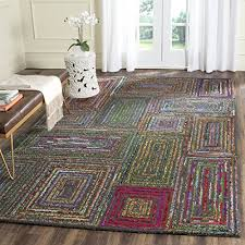 safavieh nantucket collection handmade abstract cotton premium wool area rug free free