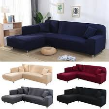 l shape couch cover stretch elastic