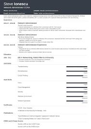 Ccna Cv Network Administrator Resume Sample Writing Guide 20