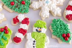 frosted christmas sugar cookies. Best Sugar Cookie Frosting Perfect For Christmas Cookies Intended Frosted