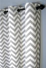 grommet chevron curtains full size of yellow