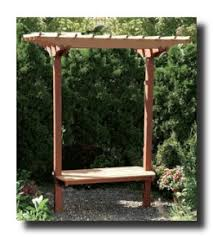 Small Picture Build Your Own Garden Arbor Woodworking Plans