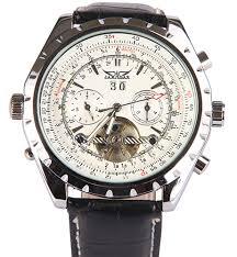 aliexpress com buy winner jaragar strap fully automatic winner jaragar strap fully automatic mechanical watch flywheel cutout multifunctional mens watch