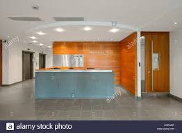 modern interior office stock. modern open plan interior office space stock