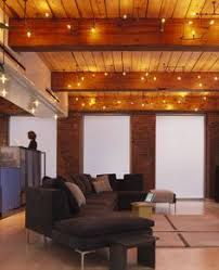 basement lighting. Plumbing Pipe Lights -from MESH Architects- 20 Cool Basement Ceiling Ideas- I Love This Lighting
