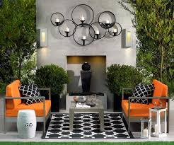 Orange Couch Living Room Outdoor Living Room Ideas Create A Warmth Outside Home