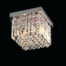flush mount crystal chandelier contemporary crystal flush mount crystal ceiling lighting elegant lighting square crystal lamp flush mount crystal