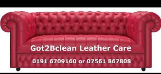 leather sofa furniture cleaning services sunderland